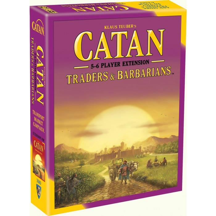 how to play catan traders and barbarians