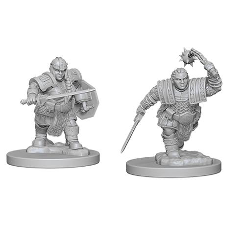 d d unpainted nolzur s marvelous miniatures dwarf female fighter