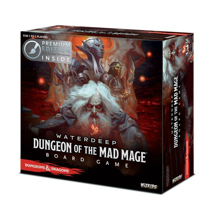 D&D Waterdeep Dungeon of the Mad Mage Board Game Premium Edition