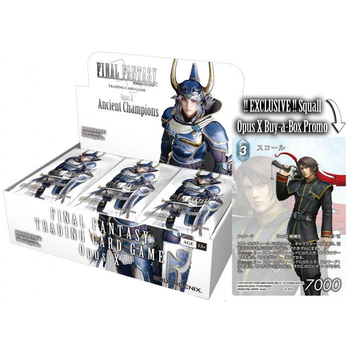 Final Fantasy TCG Opus XI Booster Box FFTCG SEALED IN HAND!!