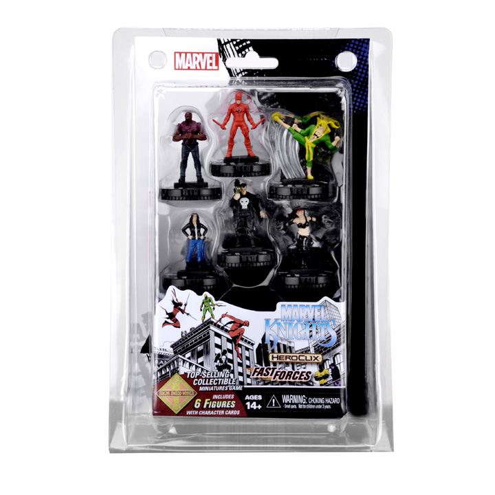 Heroclix Avengers Defenders Wars Marvel Knights Fast Forces