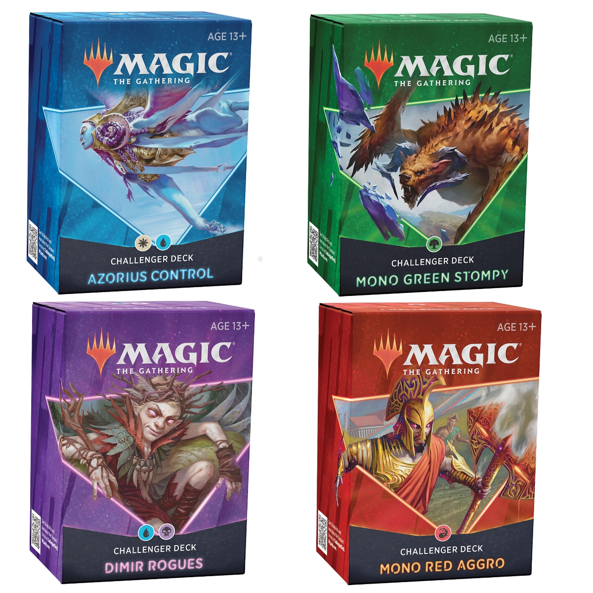 Magic the Gathering Challenger Deck 2021 Set of 4 PRESALE
