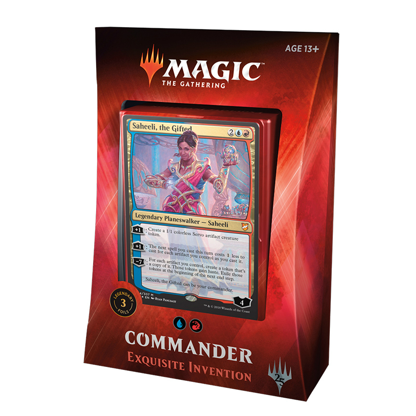 Magic the Gathering Commander Deck 2018 Exquisite Invention