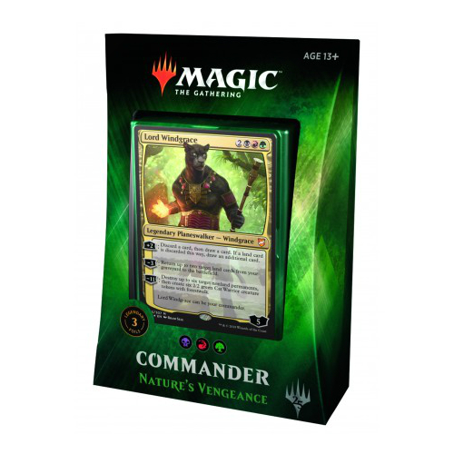 Magic the Gathering Commander Deck 2018 Nature's Vengeance