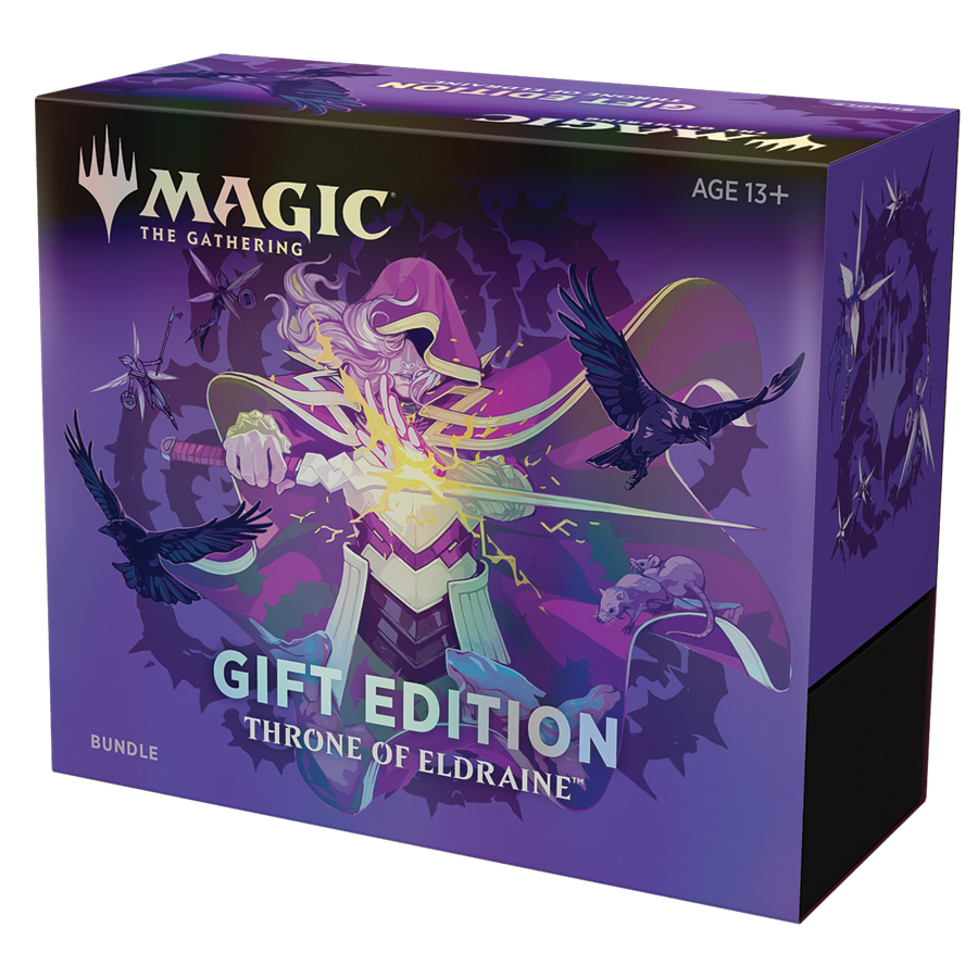 Magic the Gathering Throne of Eldraine Gift Bundle