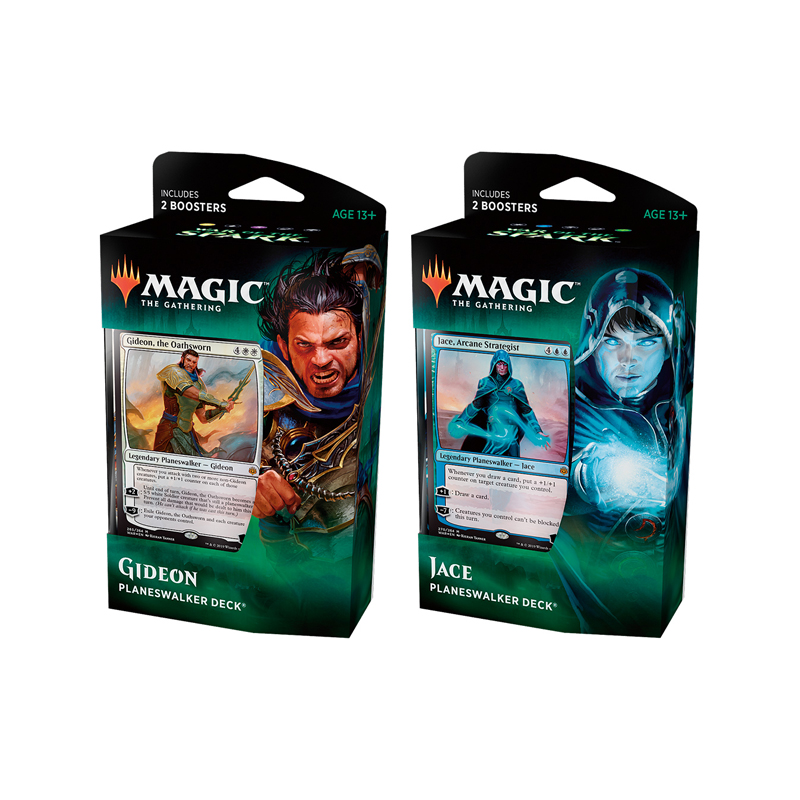 Magic the Gathering War of the Spark Set of 2 Planeswalker Deck