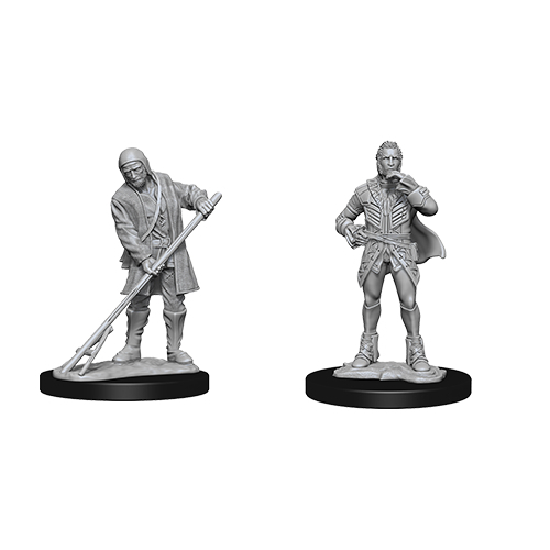 Pathfinder Battle Unpainted Deep Cuts Miniatures Townspeople