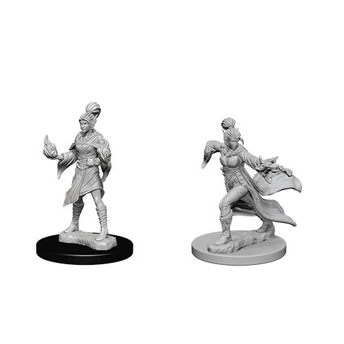 Pathfinder Battles Unpainted Deep Cuts Miniatures Elf Female Sorcerer