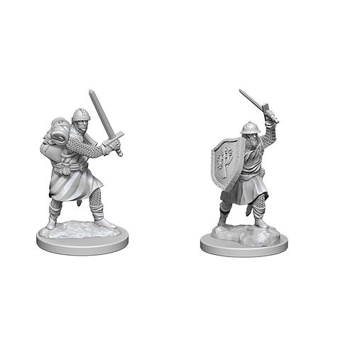 Pathfinder Battles Unpainted Deep Cuts Miniatures Infantrymen