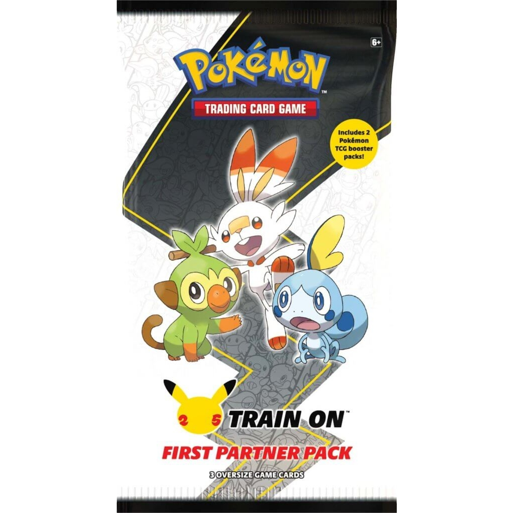 Pokemon TCG First Partner Pack Galar