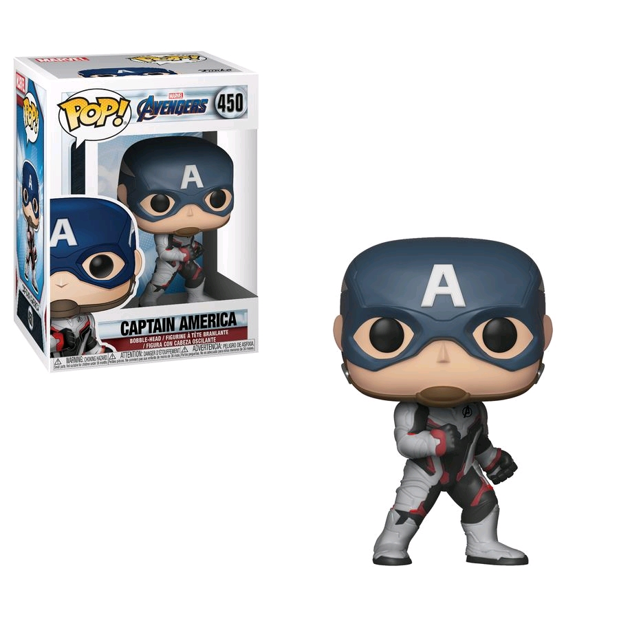 POP Avengers End Game - Captain America (Team Suit)