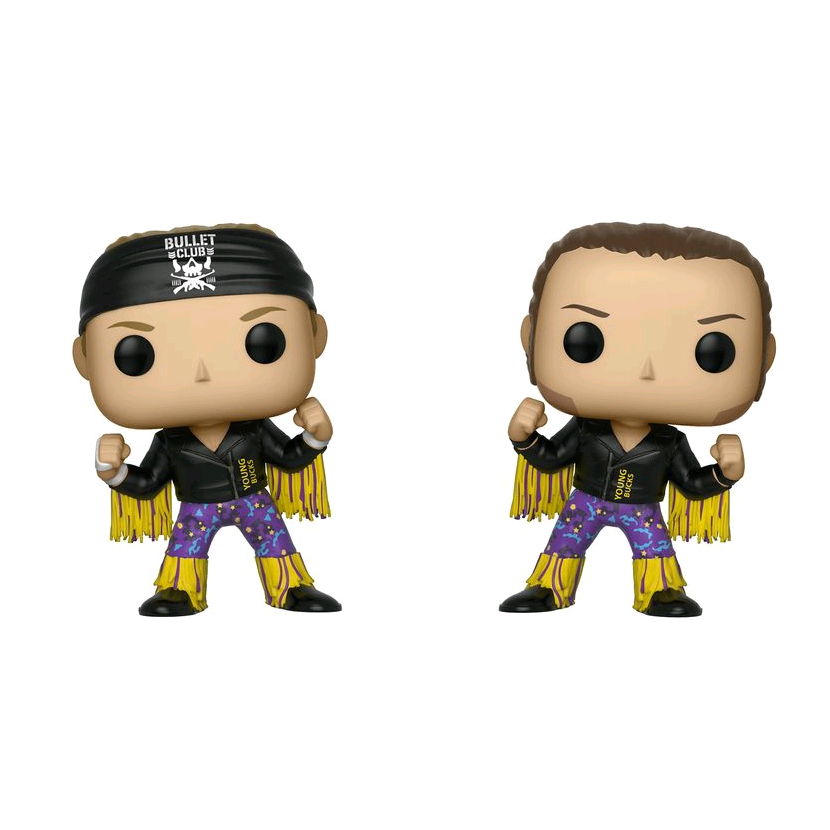 POP Bullet Club - The Young Bucks 2 Pack (RS)