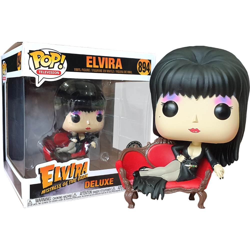 POP Elvira on Couch Deluxe (RS)