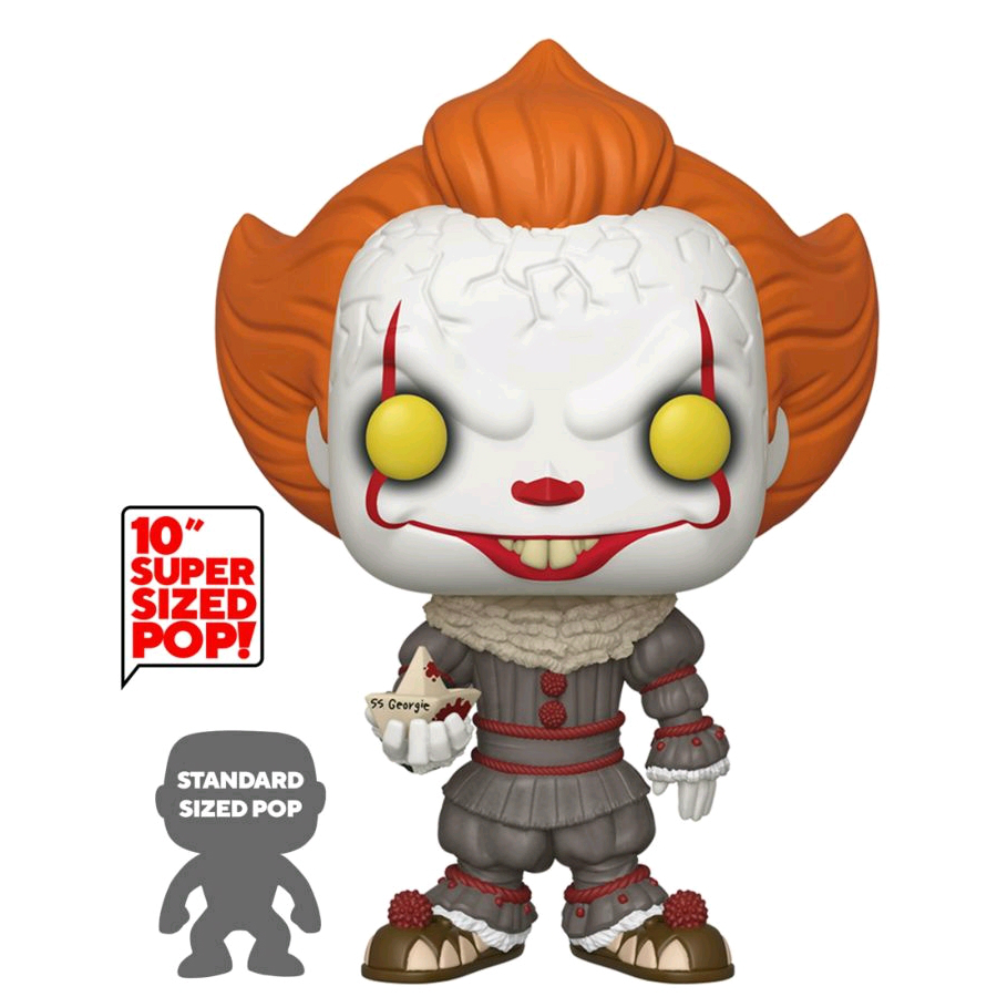 POP IT Chapter 2: Pennywise with Boat 10""