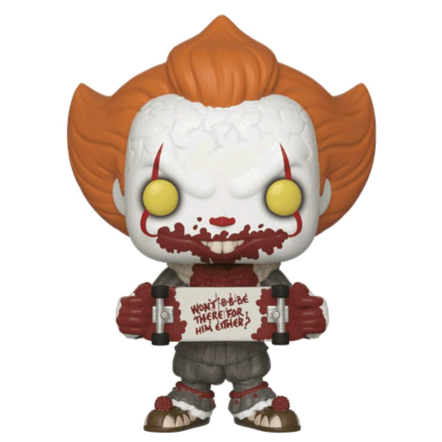 POP IT Chapter 2: Pennywise with Skateboard (RS)