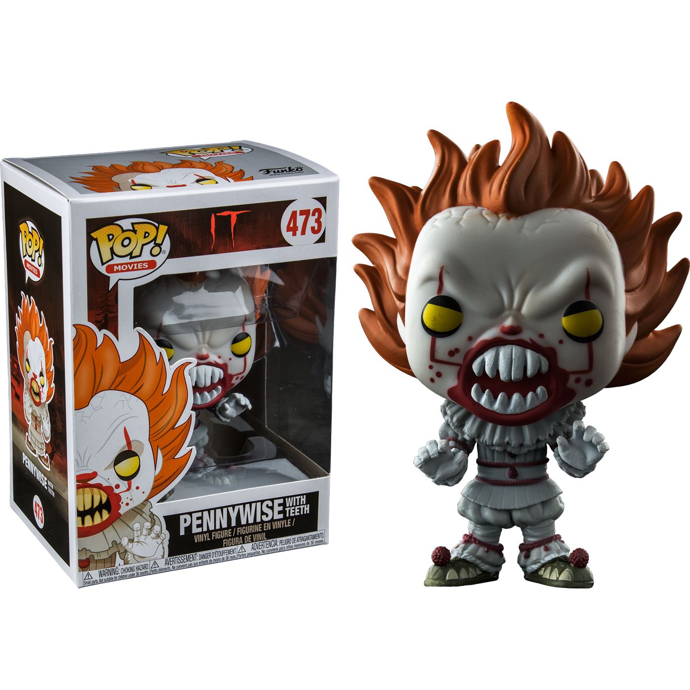 Pop It Pennywise With Teeth Rs