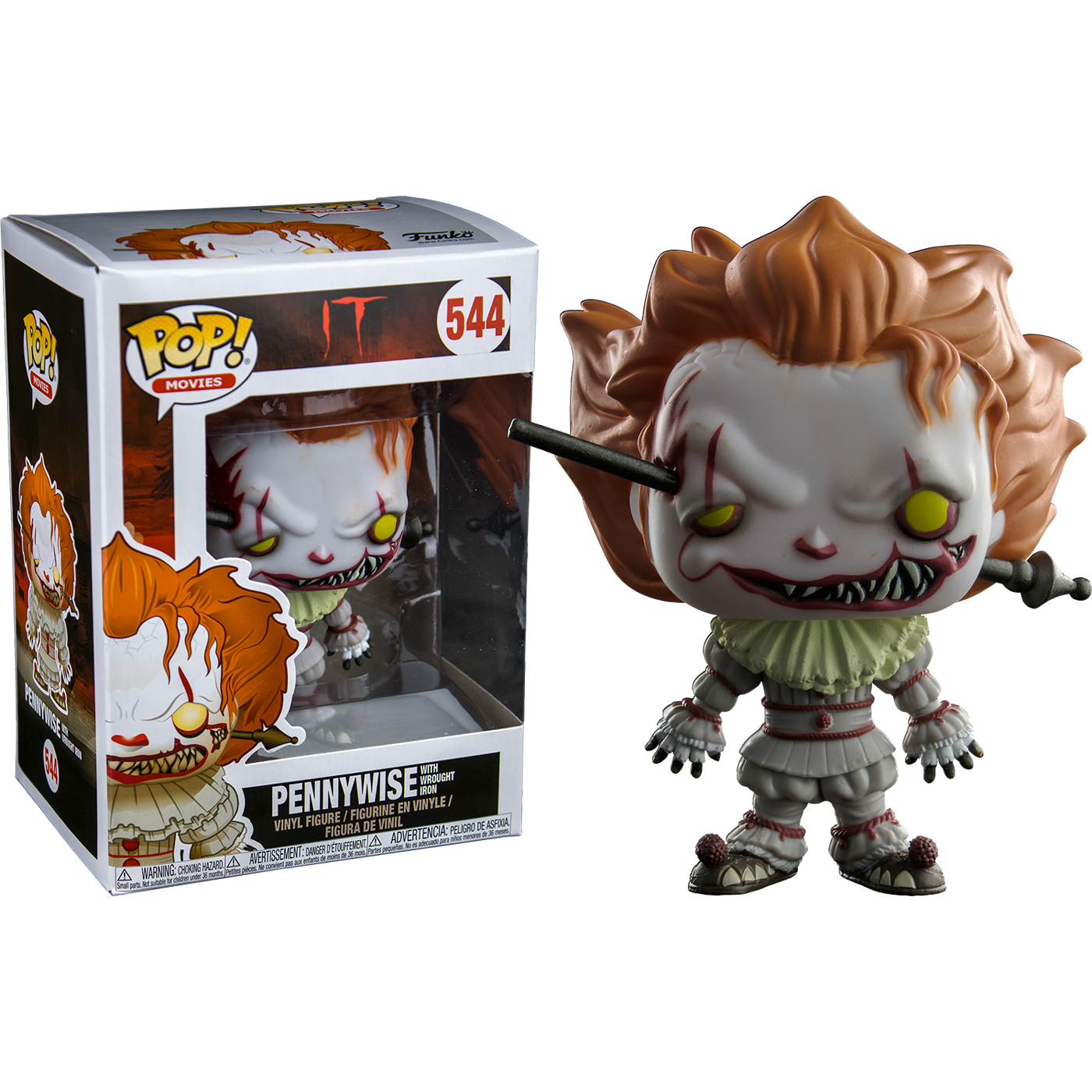 POP IT Pennywise with Wrought Iron (RS)