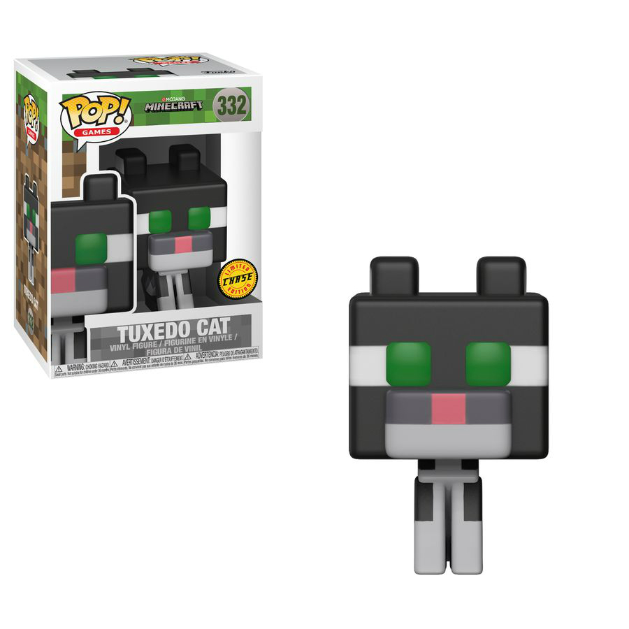 POP Minecraft Tuxedo Cat Chase Limited Edition