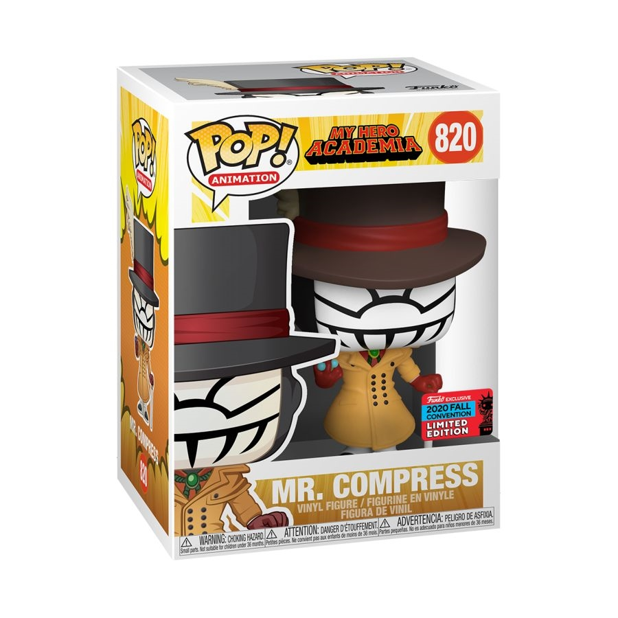 POP My Hero Academia Mr. Compress NYCC 2020 (RS)