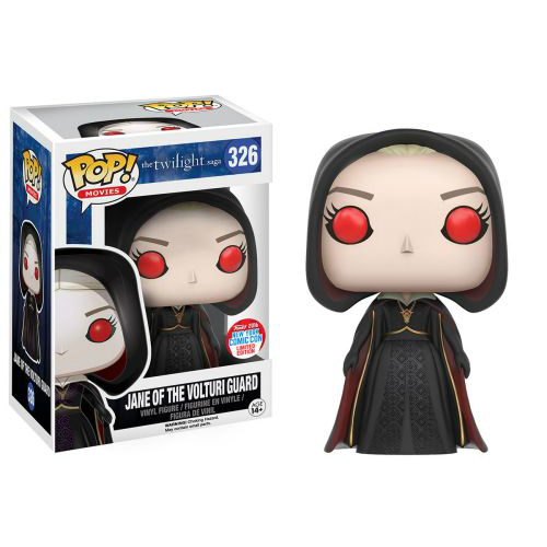 POP The Twilight Saga Jane of the Volturi Guard New York Comic Con Limited Edition