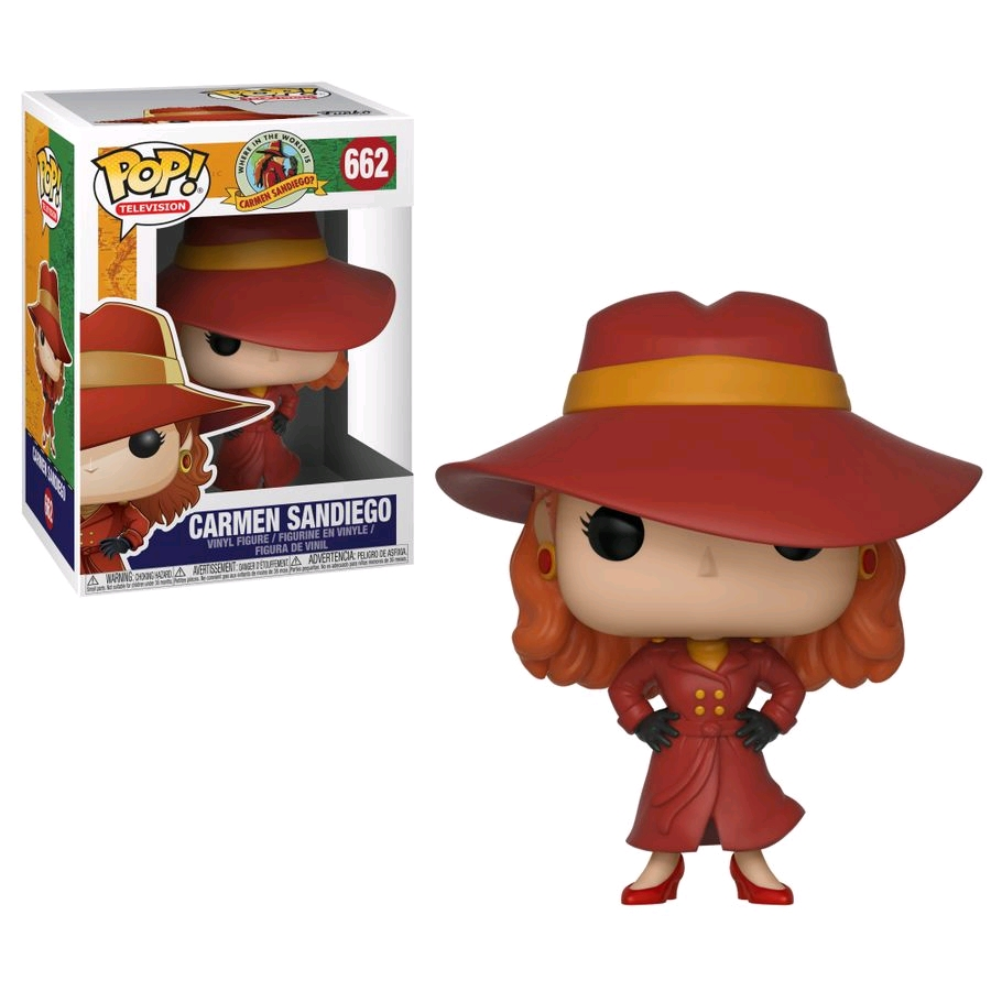 POP Where in the World is Carmen Sandiego