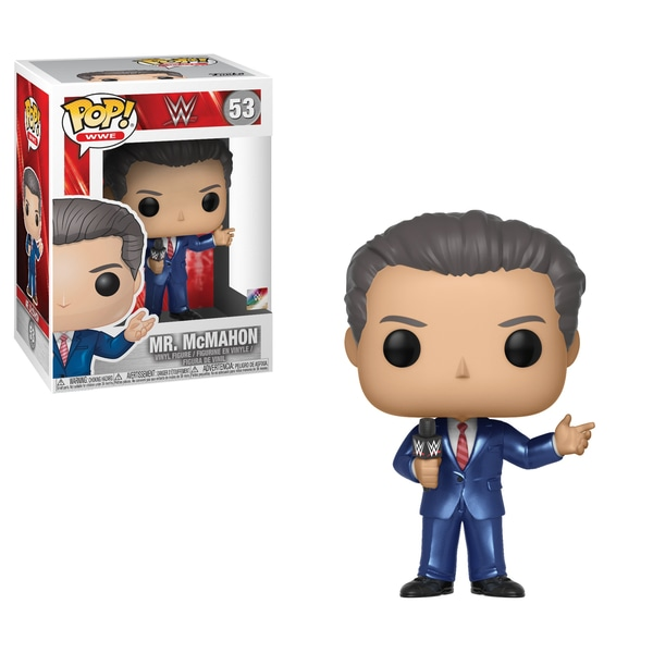 Funko-Pop WWE WWE-S8-Vince McMahon #53 Limited Chase Edition Rose Costume