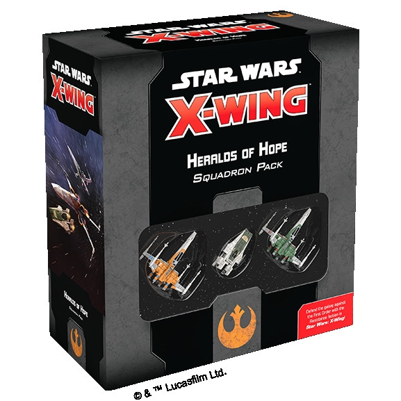 Star Wars X-Wing 2nd Edition - Heralds of Hope Squadron Pack