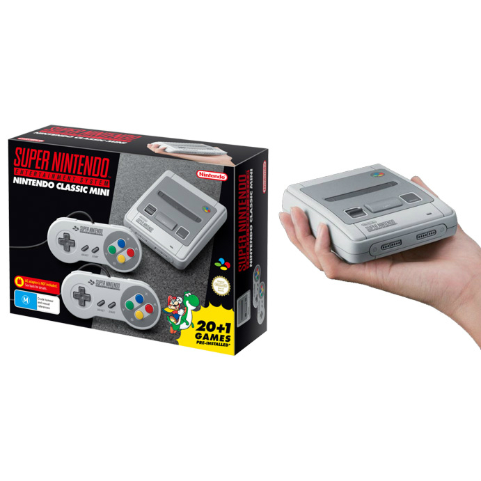 Super Nintendo Classic Mini System - New