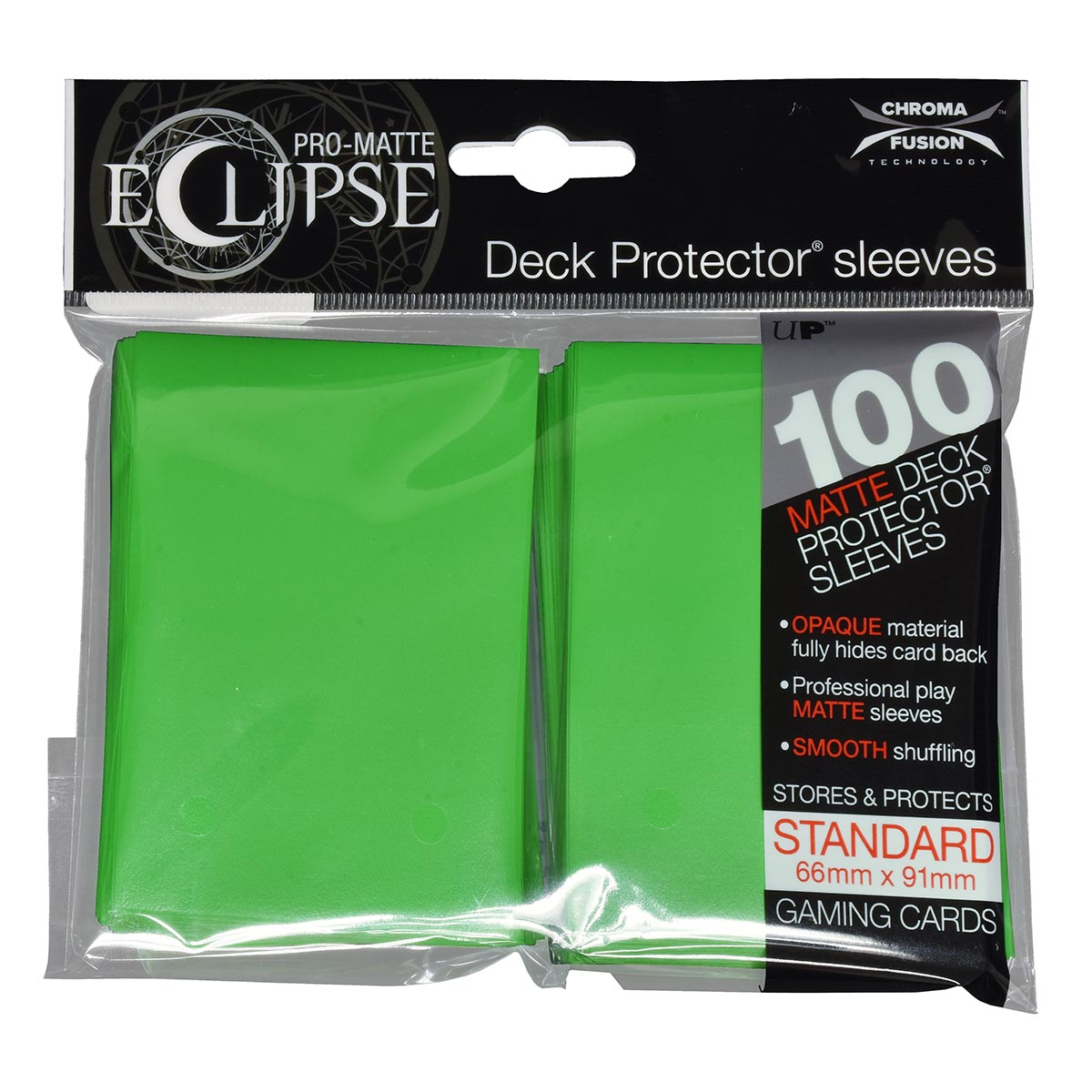 Ultra Pro Pro-Matte Eclipse Standard 100ct Green