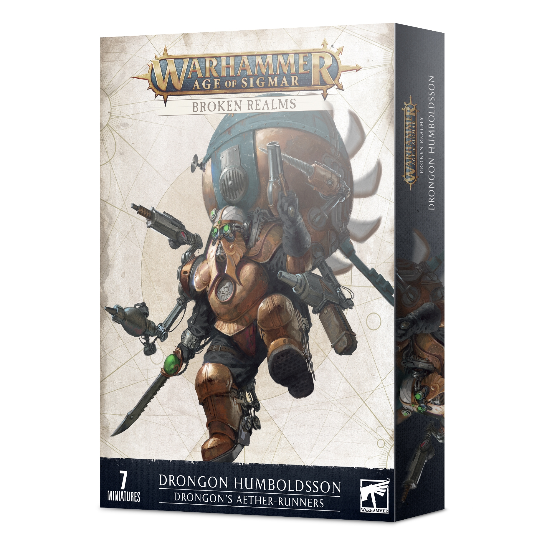 Warhammer Age of Sigmar - Broken Realms Drongon's Aether-runners  84-45