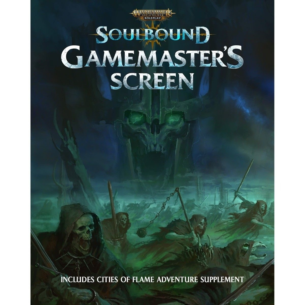 Warhammer Age of Sigmar Roleplay Soulbound Gamemaster's Screen
