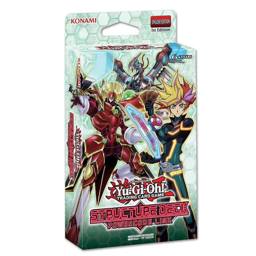 Yu-Gi-Oh! Powercode Link Structure Deck PRESALE