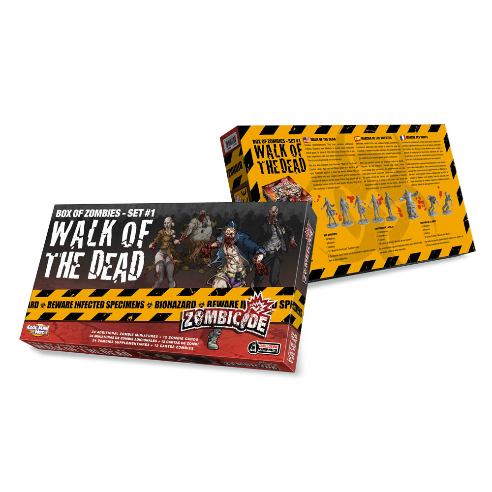 Zombicide Box of Zombies #1 Walk of the Dead